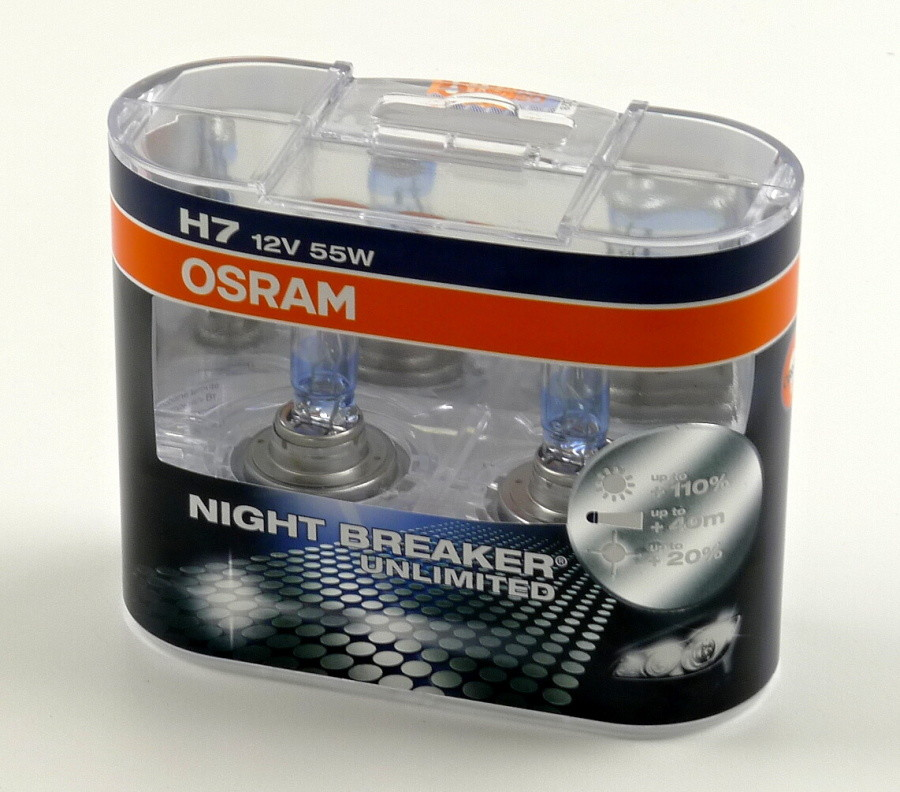 OSRAM Night Breaker Unlimited box H7 12V 55W