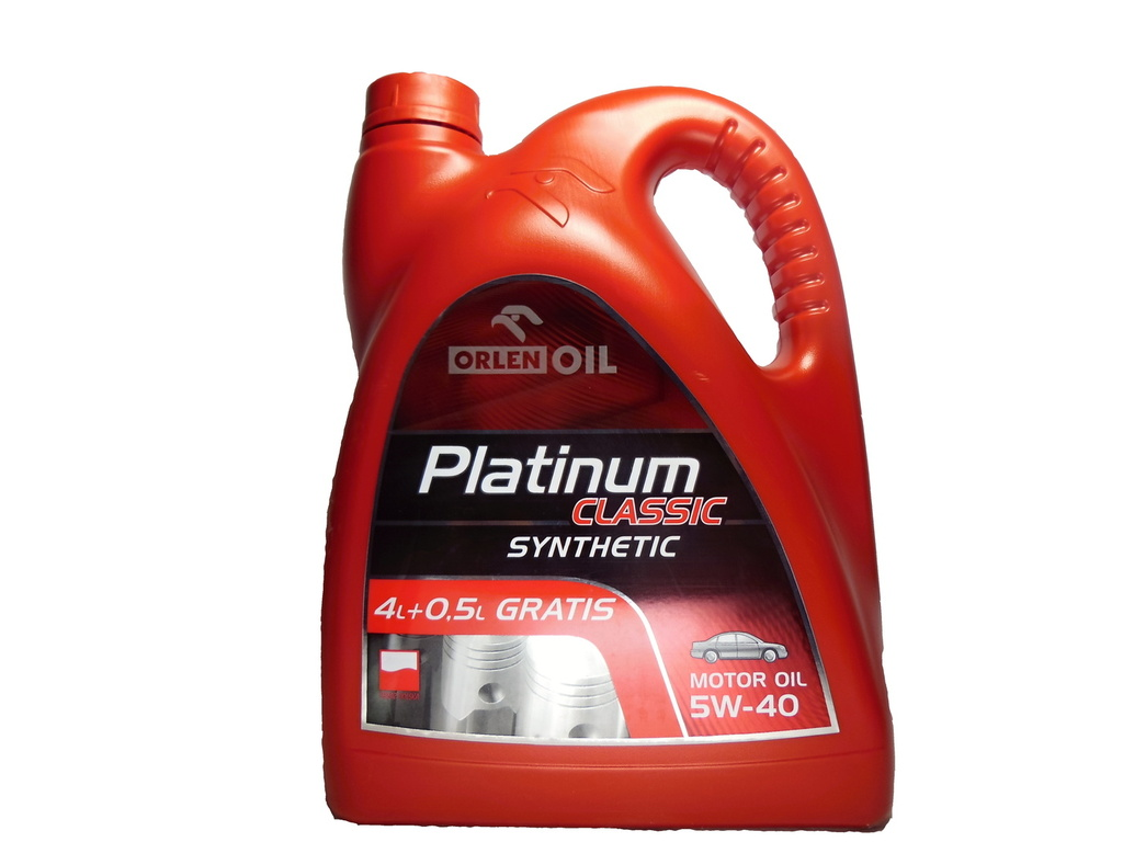 ORLENOIL PLATINUM SYNTHETIC 5W40 4,5L