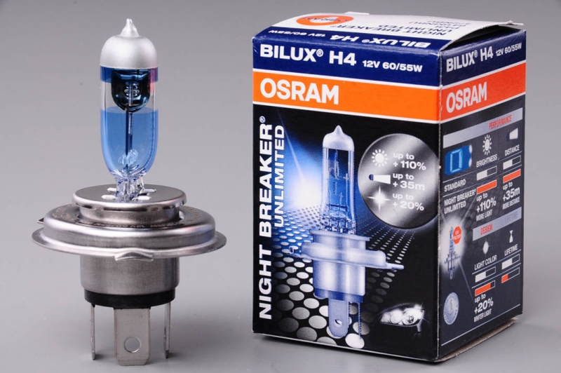 Žárovka H4 12V 60/55W OSRAM Night Breaker Unlimited