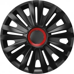Poklice Royal Red Ring Black  15""