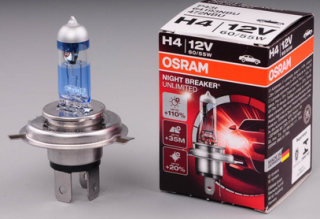 Osram Žárovka H4 12V 60/55W Night Breaker Unlimited