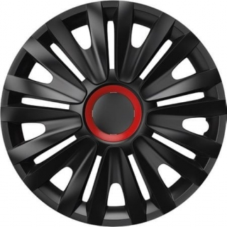 Poklice kol Royal Black Red Ring  RC 16""